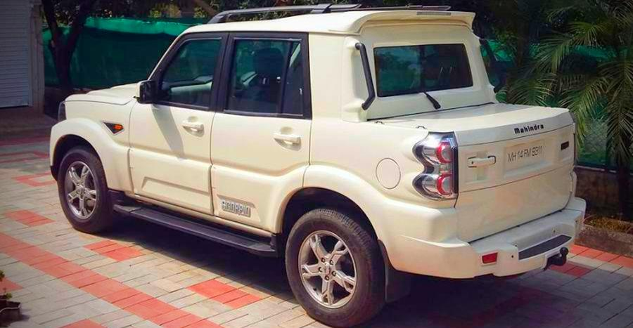 This is the Scorpio Xtreme, and yes, it's built by Mahindra