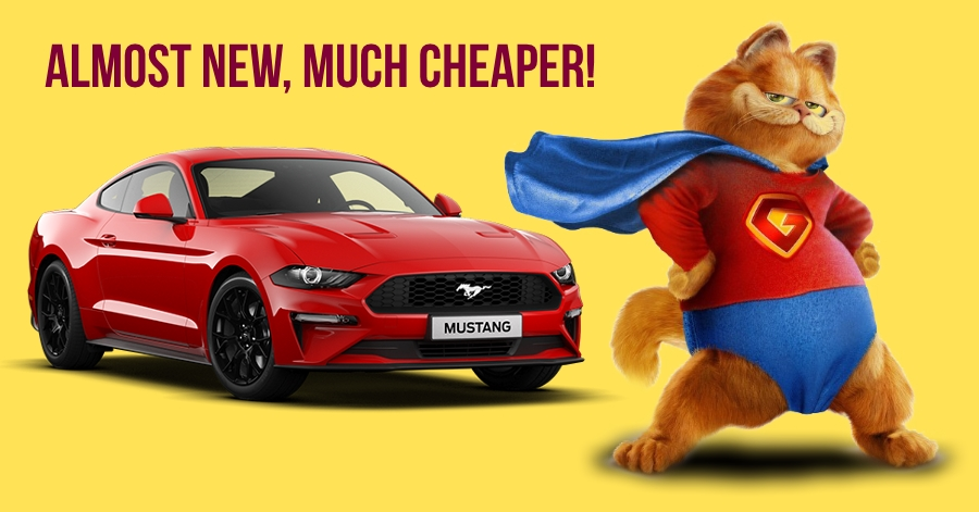 Buy Almost New Ford Mustang For Rs 10 15 Lakh Less Than New