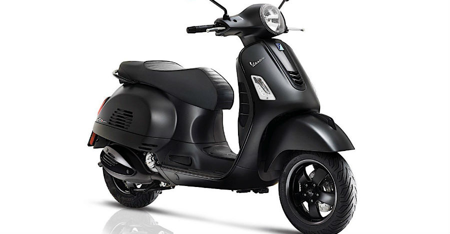 piaggio vespa notte 125 automatic scooter launched in india. Black Bedroom Furniture Sets. Home Design Ideas
