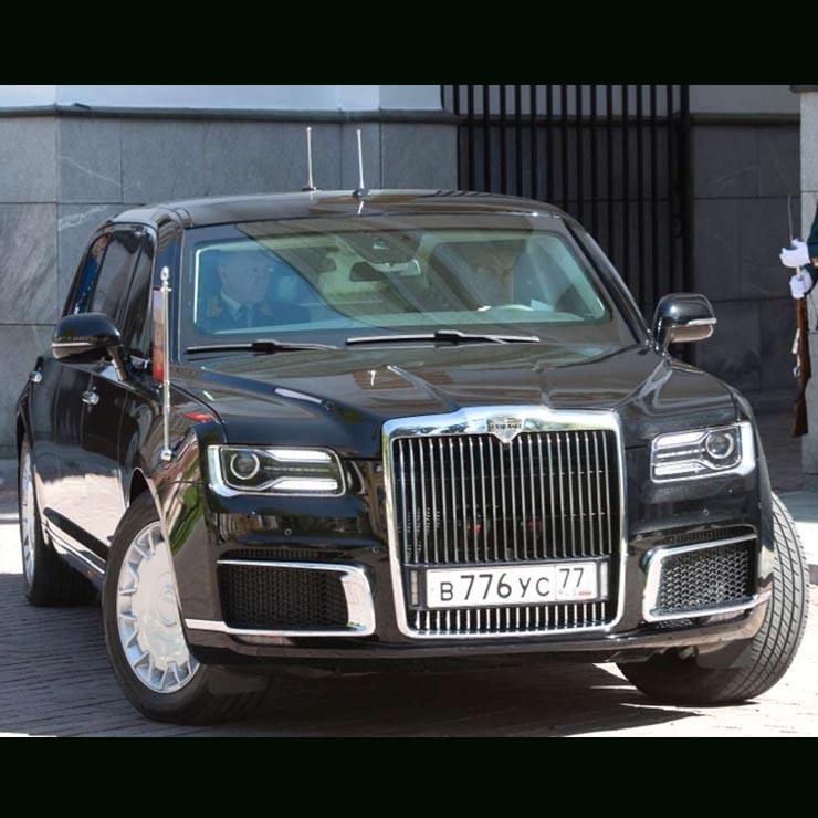 The Car Company >> Vladimir Putin S Brand New Presidential Car Is An Absolute Beast