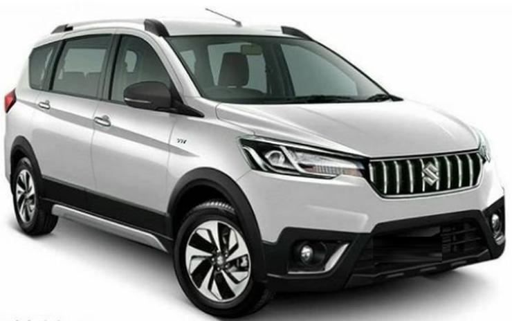 2018 Suzuki Ertiga Cross Render