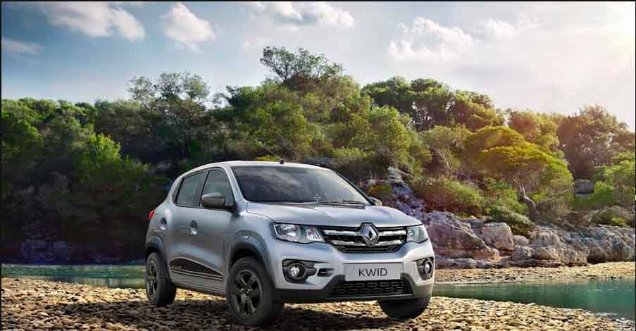 2018 Renault Kwid Facelift launched in India