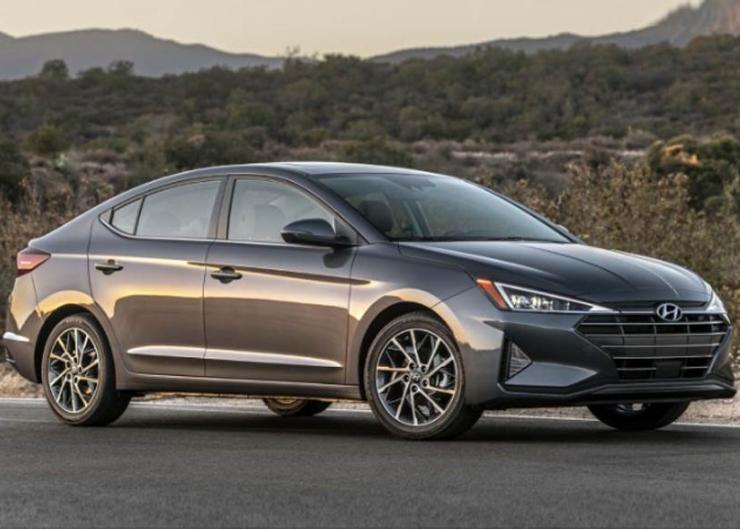 2019 Hyundai Elantra Facelift 1