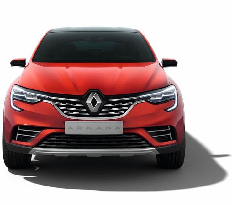 2019 Renault Arkana Coupe Suv 4