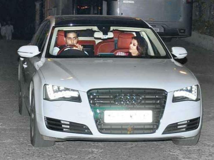 Audi-A8L bachchan