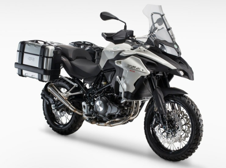 Benelli Trk 502 Front Quarter Unveiled At Eicma 2015