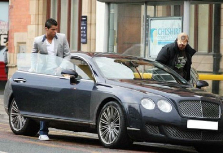 Bently Continental1 Cr7