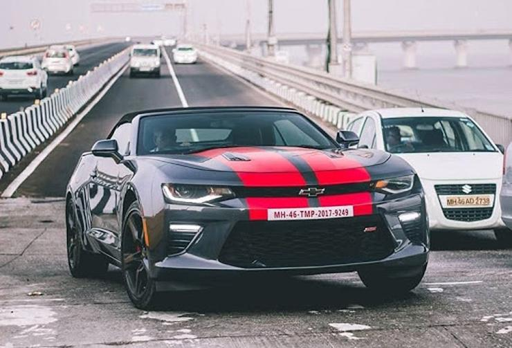 10 Awesome American Muscle Car Imports Spotted In India Chevrolet