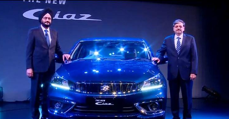 Ciaz Launched Featured