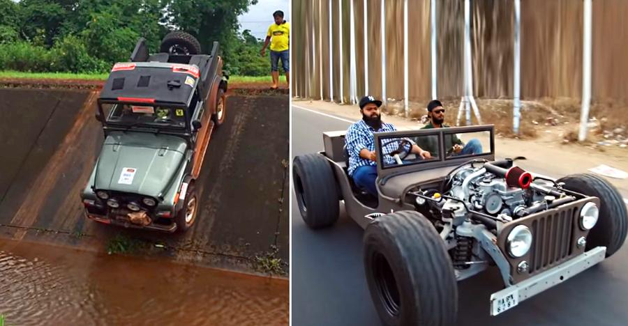 Crazy Things Mahindra Jeep Features