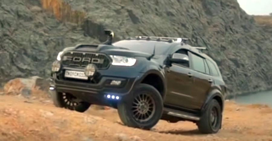 This modified Ford Endeavour SUV is pure MUSCLE