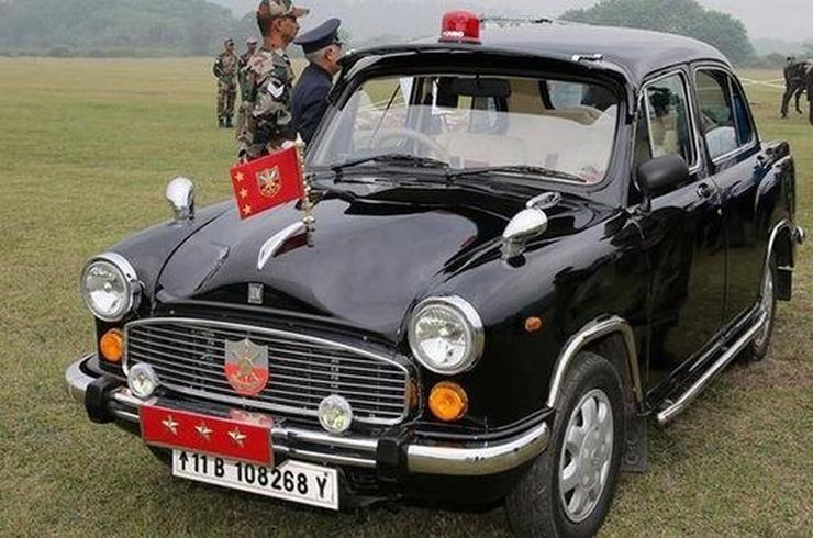 Hindustan Ambassador Indian Army
