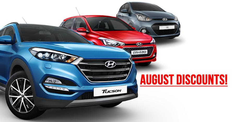 Hyundai August 2018 Discounts Featured