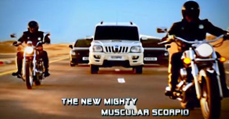 Mahindra Scorpio Ads Featured