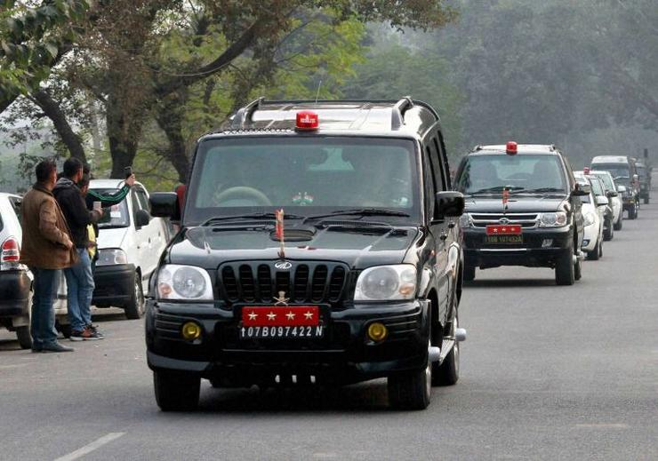Mahindra Scorpio Indian Army