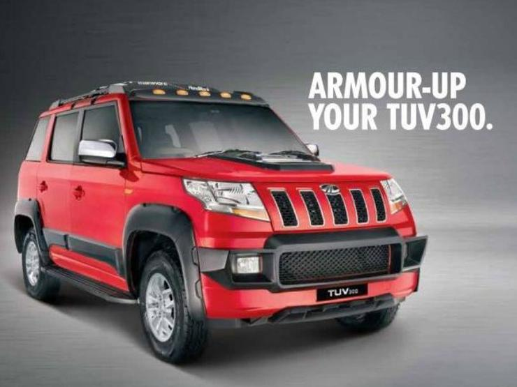mahindra tuv armour