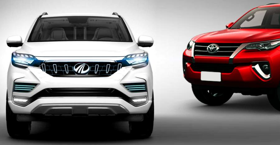 Mahindra Xuv700 Toyota Fortuner Featured