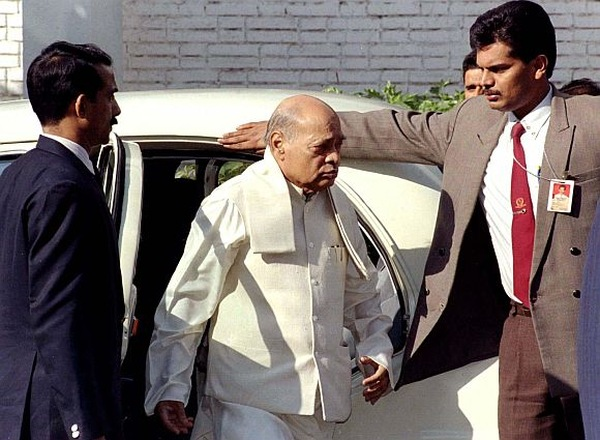 Former Indian Prime Minister Rao Arrives To Appear In Court