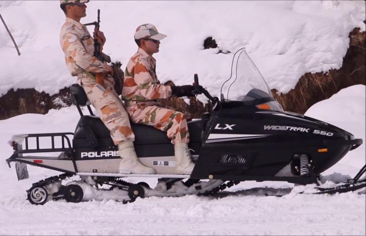 Polaris Snowmobile Itbp