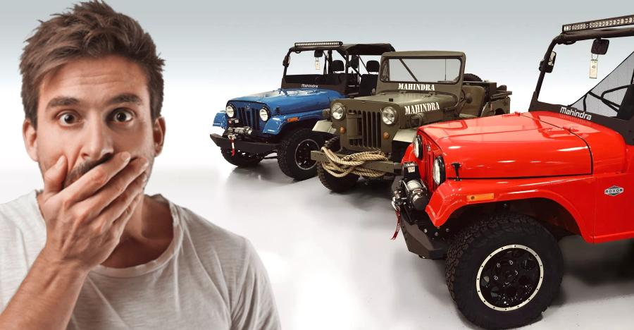 Jeep wants Mahindra Roxor BANNED in USA: Here's why!