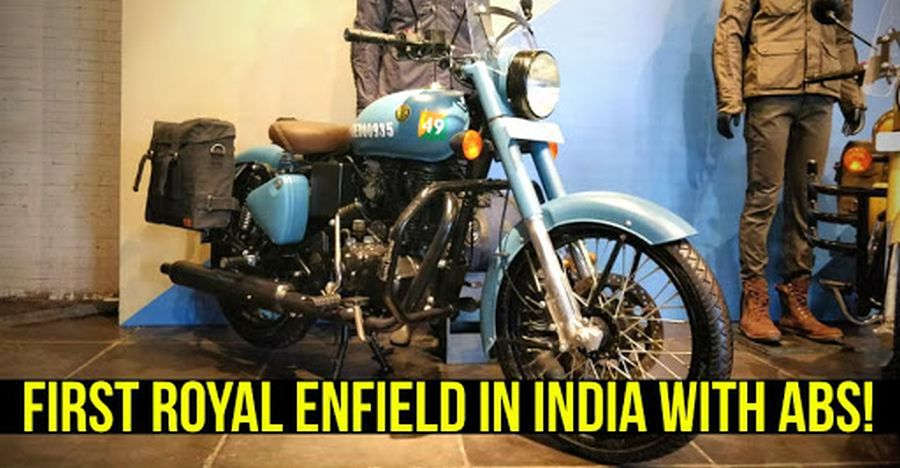 Royal Enfield Classic Signals 350 Featured