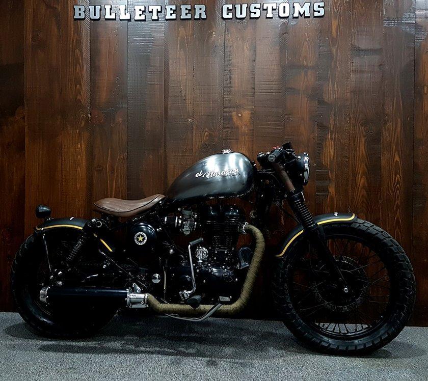 Royal Enfield 'El Huracan' is Bulleteer Customs' latest