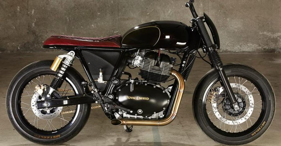 Royal Enfield Interceptor 650 Custom By Old Empire Motorcycles Featured