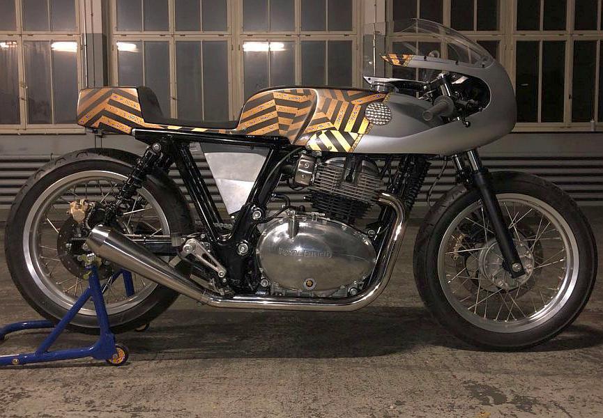 Royal Enfield Rohini 650cc Cafe Racer Custom