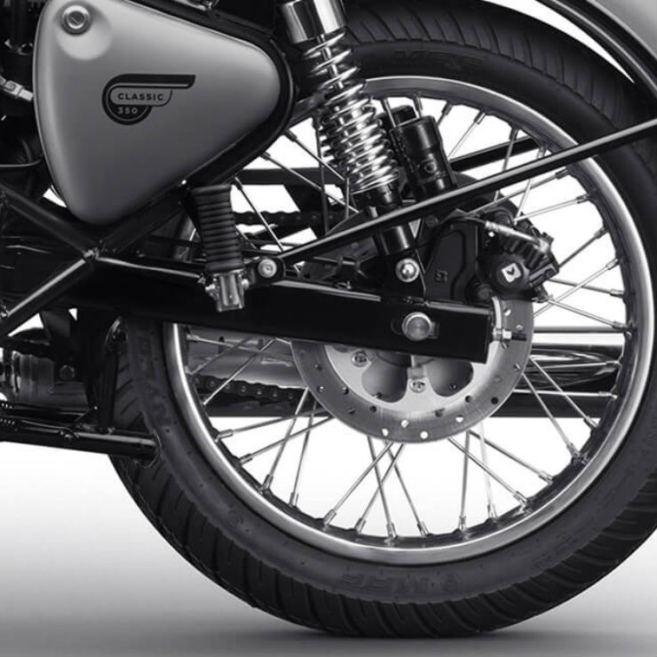 Royal Enfield Rear Disc