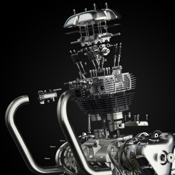 Royal Enfield Twin Engine