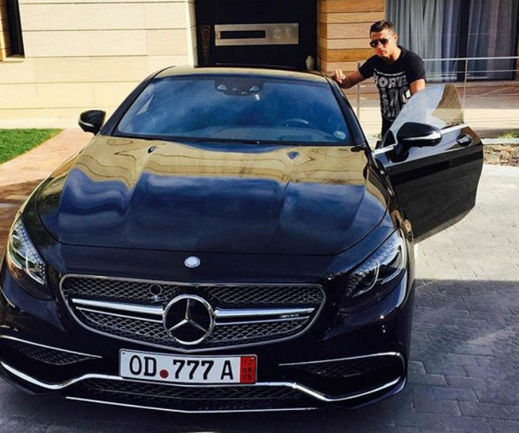 S65 Amg Coupe Cr7