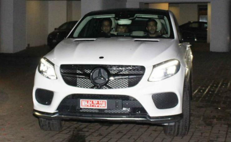 Salman Mercedes AMG Gle 43
