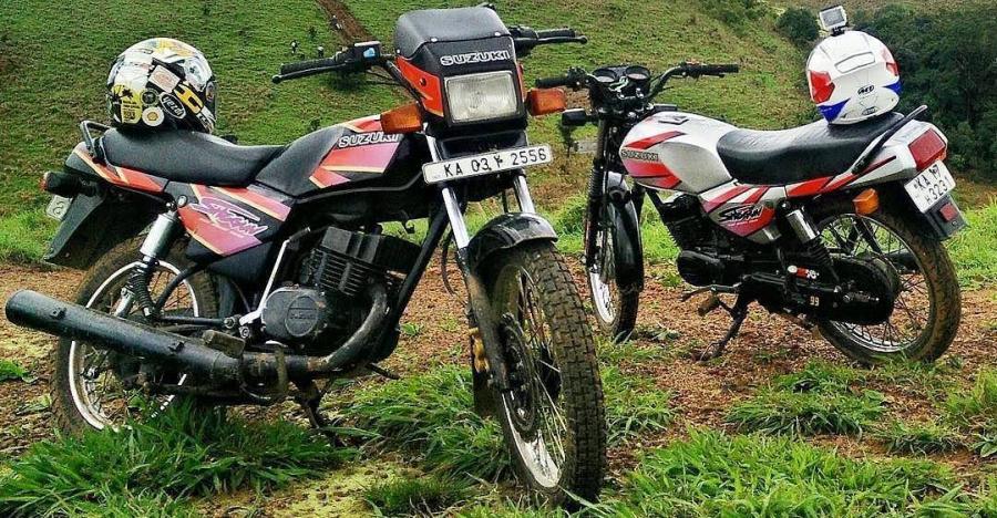 FORGOTTEN motorcycles from TVS Motors: AX100, Shaolin