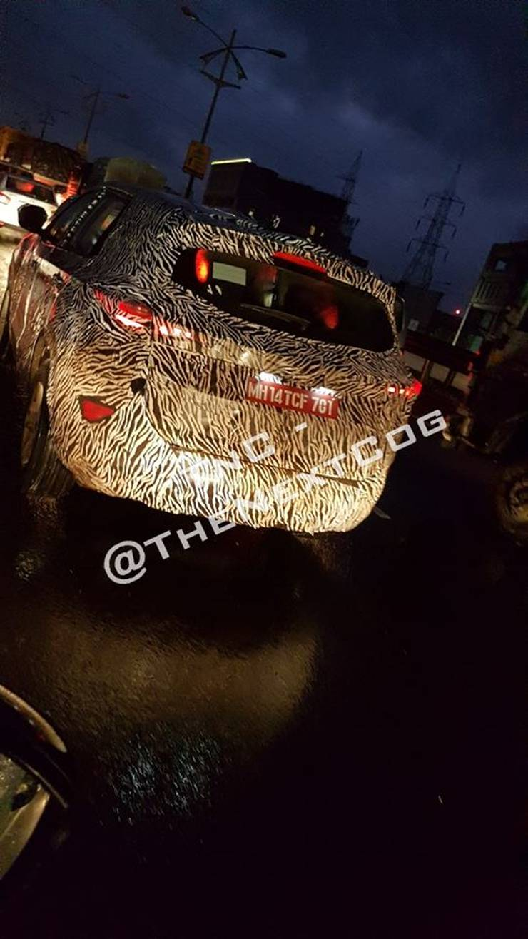 Tata Harrier Production Spec Spy Pics 2