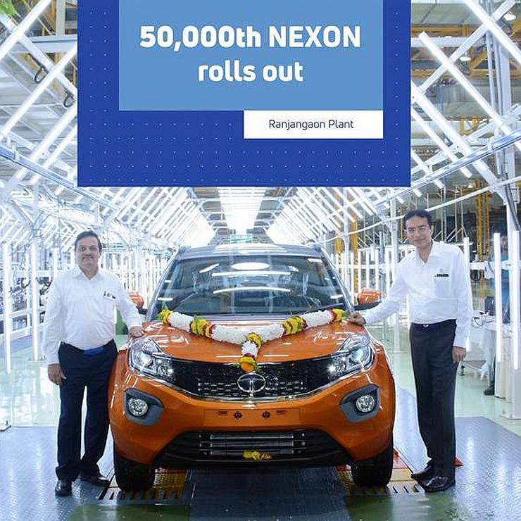 Tata Nexon 50k Production
