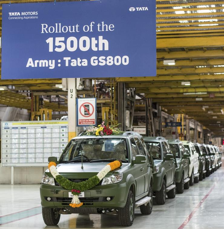 Tata Safari Storme Gs800 Army Edition