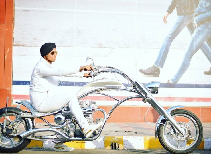 Custom Re Lightning Chopper 1
