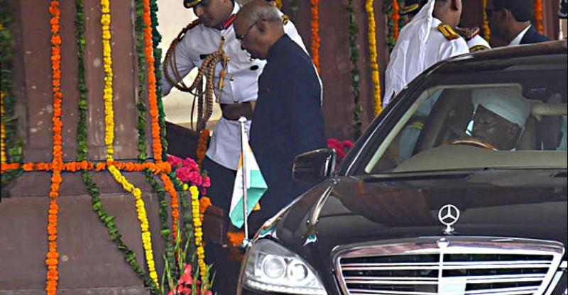 Kovind S Class Presidential Limo