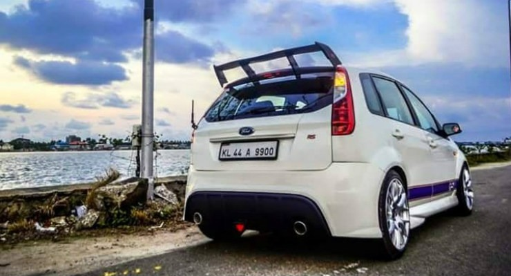 Lowered Ford Figo Rs 2