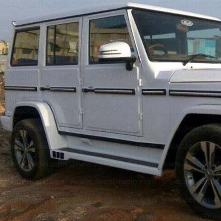 Mahindra Bolero To Mercedes G Wagon Conversion 1