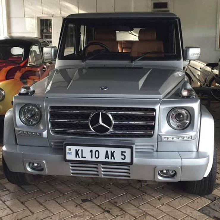 Mahindra Bolero To Mercedes G Wagon Conversion 3