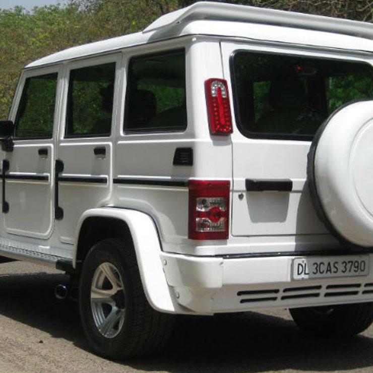 Mahindra Bolero To Mercedes G Wagon Conversion 8