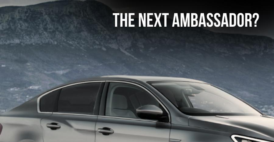 peugeot ambassador sedan render