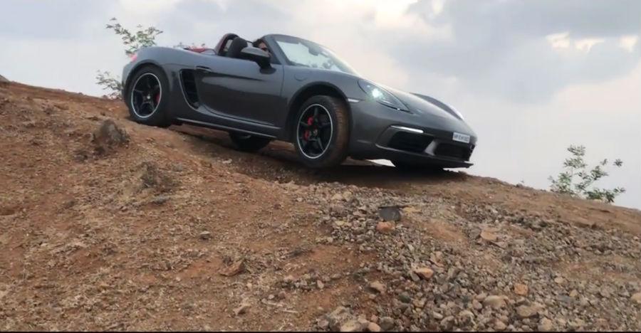 Porsche Boxster Offroad