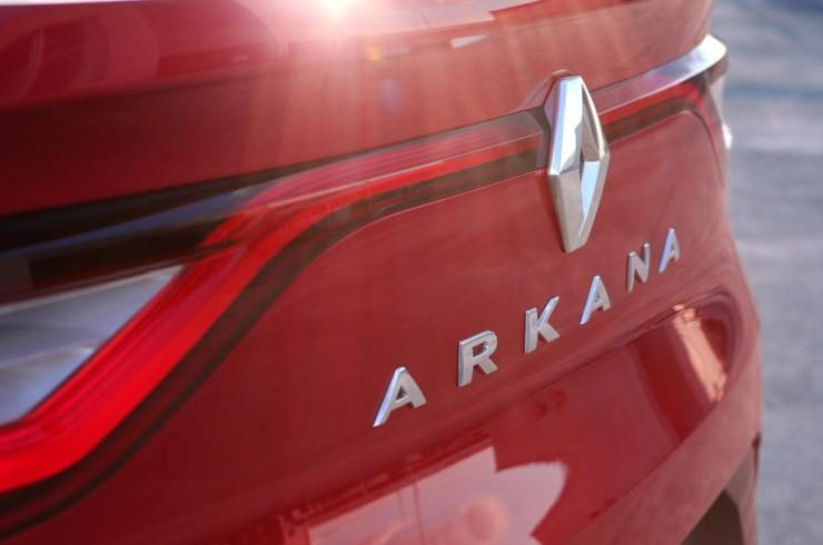 Renault Arkana Crossover Suv Teaser 2