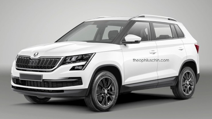 Creta-rival Skoda SUV For India render