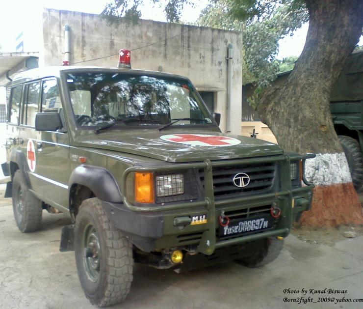 Tata Sumo 4x4 Indian Army