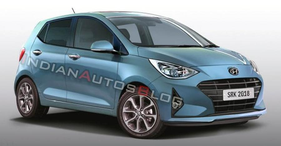 2019 Hyundai Grand I10 Render Featured
