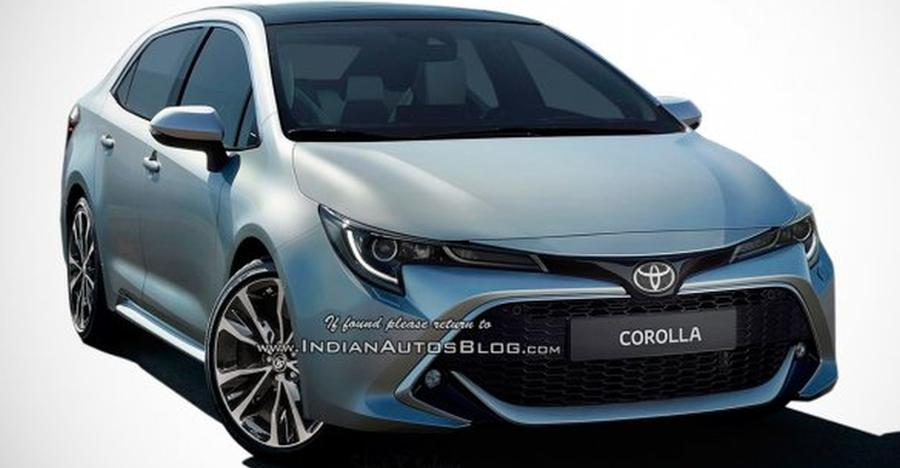 2019 Toyota Corolla Altis Render Featured