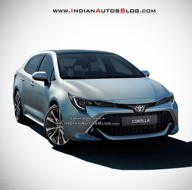 All New Toyota Corolla Altis What It Ll Look Like